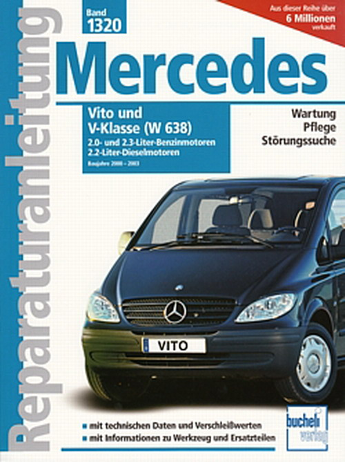 mercedes vito v klasse w638 2000 2003. Black Bedroom Furniture Sets. Home Design Ideas