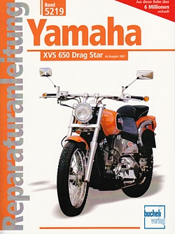 yamaha xvs 650 drag star ab97 reparaturanleitung reparatur. Black Bedroom Furniture Sets. Home Design Ideas