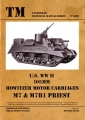 U.S. WW II 105 mm - Howitzer Motor Carriages M7 & M7B1 Priest