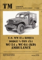 U.S. WWII & Korea Dodge 3/4-Ton 4X4 WC-54 & WC-64 (KD) Ambulance