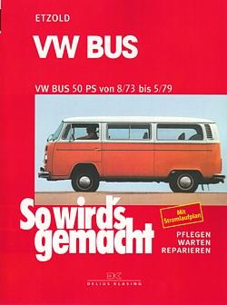 vw bus t2 50ps reparaturanleitung so wirds gemacht etzold. Black Bedroom Furniture Sets. Home Design Ideas