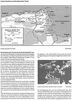 Brückenkopf Tunis Kriegsschauplatz Afrika NEU Afrikakorps//Rommel//Buch Handrich