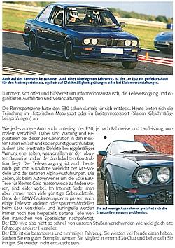 BMW 3er E30 M3 1996-2004 Handbuch//Typen//Ratgeber Praxisratgeber Klassikerkauf