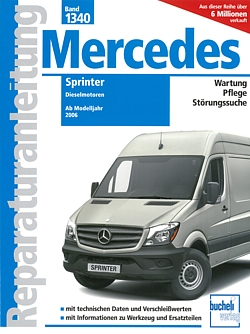 mercedes sprinter diesel w906 reparaturanleitung. Black Bedroom Furniture Sets. Home Design Ideas