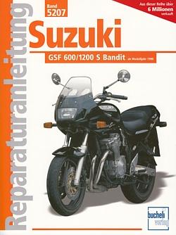 SUZUKI GSF 600/1200 S Bandit Reparaturanleitung Reparatur-Buch ...