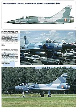AirDOC ADP 11 Die Dassault Mirage 2000 über Europa Modellbau//Bilder//Fotos//Buch