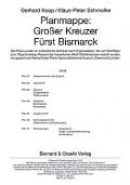 Köhl & Niestle: Planmappe: Großer Kreuzer Fürst Bismarck