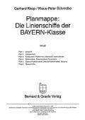 Planmappe: Linienschiffe der BAYERN-Klasse