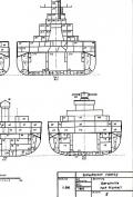 Koop & Schmolke: Planmappe: Schlachtschiff Tirpitz