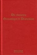 Dr. Ernst Schulze: Die römischen Grenzanlagen in Deutschland