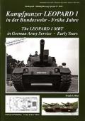 Kampfpanzer Leopard 1 in der Bundeswehr - Frühe Jahre