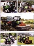 Deutz Traktoren im Einsatz