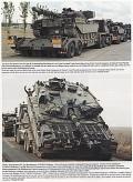 Panzertransporter der modernen Britischen Armee