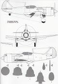 Russisches Jagdflugzeug Lawotschkin La-9