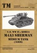 U.S. WW II & Korea M4A3 Sherman Medium Tank (76 mm)
