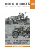 Sd.Kfz. 7 - 8 ton Zugkraftwagen Krauss-Maffei and Variants