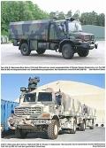 Geschützte Transport- und Sonderfahrzeuge der Bundeswehr