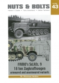 FAMOs Sd.Kfz. 9, 18 ton Zugkraftwagen armoured and unarmoured variants