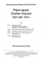Koop & Schmolke: Planmappe: Großer Kreuzer Von der Tann