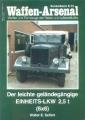 Seifert: Waffen-Arsenal - D. leichte geländegängige Einheits-LKW