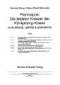 Koop & Schmolke: Planmappe: Die leichten Kreuzer Königsberg-
