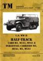U.S. WW II Half-Track Cars M2, M2A1, M9A1 & Personnel Carriers
