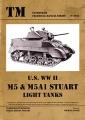 U.S. WW II M5 & M5A1 Stuart light tanks