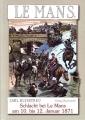 Schlacht bei Le Mans am 10. bis 12. Januar 1871 zwischen der ...