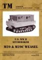 U.S. WW II Studebaker M29 & M29C Weasel