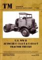 U.S. WW II Autocar U-7144-T & U-8144-T Tractor Trucks