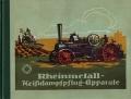 Rheinmetall Heissdampfpflüge nach dem Zweimaschinensystem