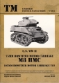 U.S. WW II 75mm Howitzer Motor Carriage M8 HMC