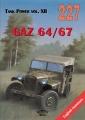 Russischer Geländewagen GAZ-64/67 - GAZ-61/AR-NATI (4X4)
