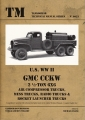 U.S. WW II GMC CCKW 2 1/2-Ton 6X6 Air Compressor Trucks, ...