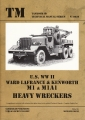 U.S. WW II Ward Lafrance & Kenworth M1 & M1A1 Heavy Wreckers