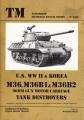 U.S. WWII & Korea M36, M36B1 & M36B2 90mm Gun Motor Carriage...