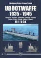 Ubootwaffe 1935-1945 / U1 - U24