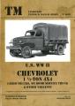 U.S. WW II Chevrolet 1 1/2-Ton 4X4 Cargo Trucks, M6 Bomb ...